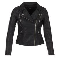 Vêtements Femme Vestes en cuir / synthétiques Only MADDY Noir