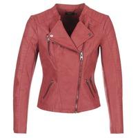 Vêtements Femme Vestes en cuir / synthétiques Only AVA Rouge