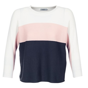 Vêtements Femme Pulls Only REGITZE Blanc / Rose / Marine