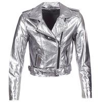 Vêtements Femme Vestes en cuir / synthétiques Only ANN Argent