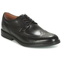 Chaussures Air max tnHomme Derbies Clarks Black Leather Noir