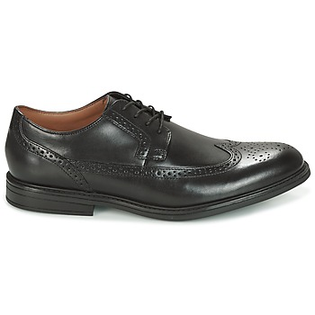 Chaussures Clarks BLACK LEATHER