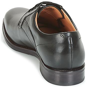 Clarks Black Leather Noir