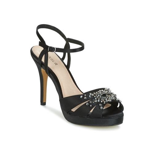 Chaussures Femme Sandales et Nu-pieds Menbur ALCAZR Noir