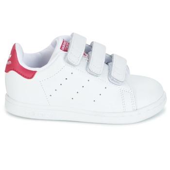 adidas Originals STAN SMITH CF I Blanc / rose