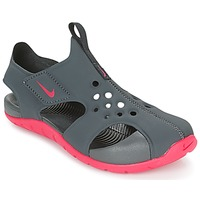 Chaussures Fille Sandales et Nu-pieds Nike SUNRAY PROTECT 2 CADET Gris / Rose