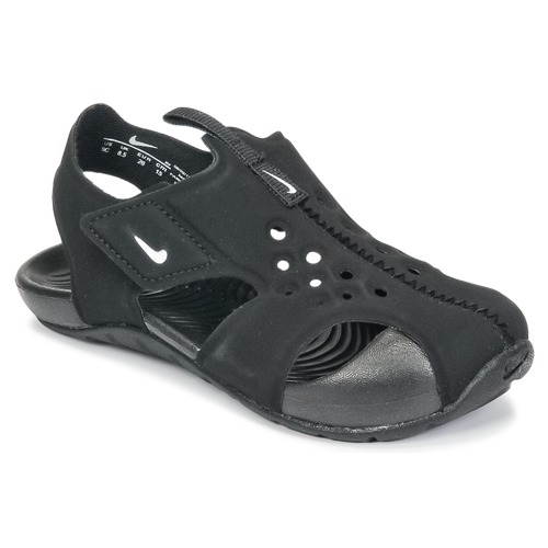 1a69f66221678 Chaussures Garçon Sandales et Nu-pieds Nike SUNRAY PROTECT 2 TODDLER Noir    Blanc