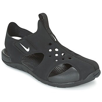 Chaussures Enfant Sandales et Nu-pieds Nike SUNRAY PROTECT 2 CADET Noir / Blanc