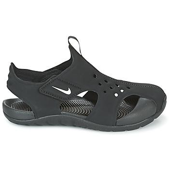2243128bd672e Nike SUNRAY PROTECT 2 CADET Noir   Blanc - Chaussure pas cher avec ...
