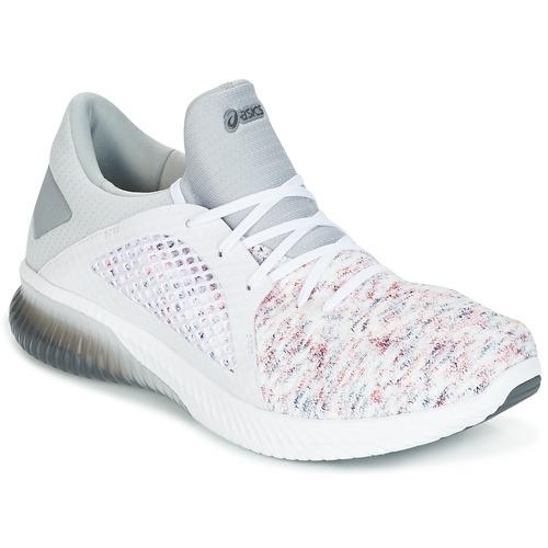 Chaussures Homme Baskets basses Asics KENUN KNIT Blanc