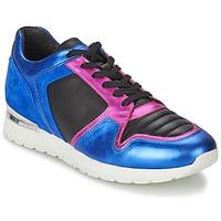 Chaussures Femme Baskets basses Bikkembergs KATE 420 Bleu / Fushia
