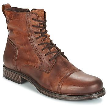 Chaussures Homme Boots Jack & Jones RISSOL Marron