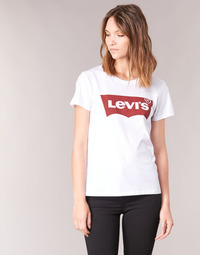 Vêtements Femme T-shirts manches courtes Levi's THE PERFECT TEE Blanc