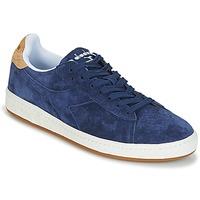 Chaussures Homme Baskets basses Diadora GAME LOW SUEDE Bleu