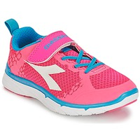 Chaussures Air max tnFille Baskets basses Diadora NJ-303-1 JR Rose