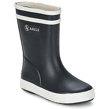 Chaussures Enfant Bottes de pluie Aigle BABY FLAC Marine