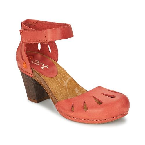 Chaussures Femme Sandales et Nu-pieds Art IMEET 144 Corail