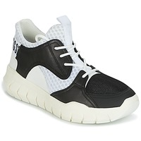 Chaussures Homme Baskets basses Bikkembergs FIGHTER 2022 LEATHER Noir / Blanc