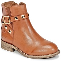 Chaussures Fille Boots Young Elegant People CELIA Cognac