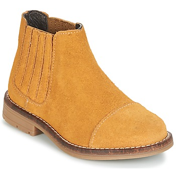 Chaussures Fille Boots Young Elegant People FILICIA Camel