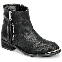 Chaussures Fille Boots Young Elegant People AMELIA Noir