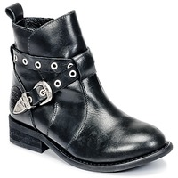 Chaussures Fille Boots Young Elegant People CALYPSO Noir