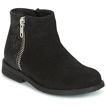 Chaussures Fille Boots Young Elegant People FABIOLA Noir