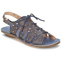 Chaussures Air max tnFemme Sandales et Nu-pieds Neosens DAPHNI LACE Marine