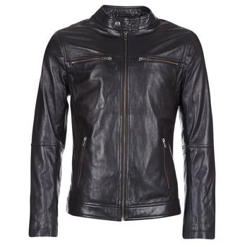 Vêtements Homme Vestes en cuir / synthétiques Casual Attitude HEXO Noir