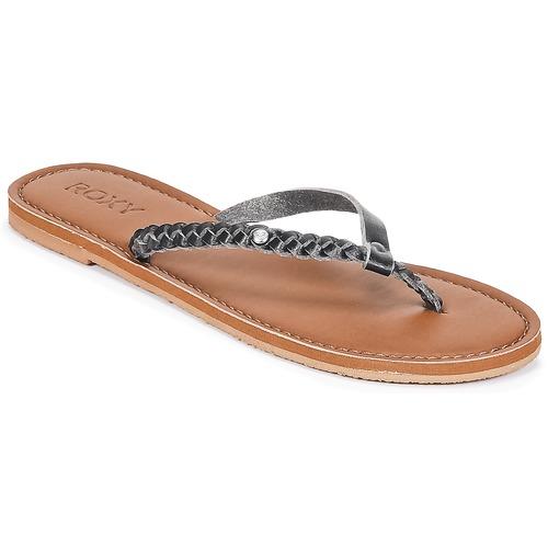 Chaussures Femme Tongs Roxy LIVIA J SNDL BLK Noir
