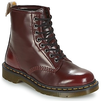 Chaussures Boots Dr Martens VEGAN 1460 Rouge