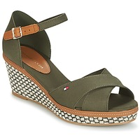 Chaussures Femme Sandales et Nu-pieds Tommy Hilfiger ICONIC ELBA SANDAL BASIC Vert