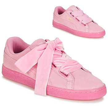 Chaussures Femme Baskets basses Puma SUEDE HEART RESET WN'S Rose