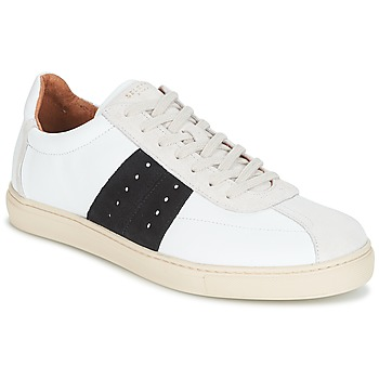 Chaussures Homme Baskets basses Selected SHNDURAN NEW MIX SNEAKER Blanc / marine