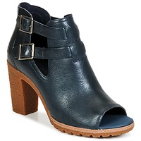 Chaussures Femme Bottines Timberland EARTHKEEPERS® GLANCY PEEP TOE Bleu nuit