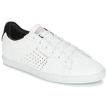 Chaussures Femme Baskets basses Le Coq Sportif AGATE LO S LEA/SATIN Blanc