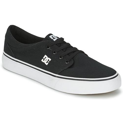 Chaussures Homme Baskets basses DC Shoes TRASE TX MEN Noir / Blanc