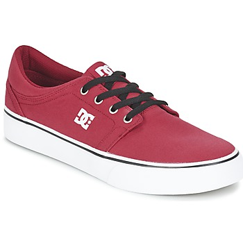 Chaussures Homme Baskets basses DC Shoes TRASE TX MEN Rouge / Noir