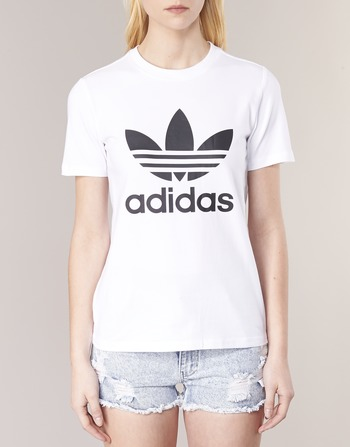 adidas Originals TREFOIL TEE Blanc