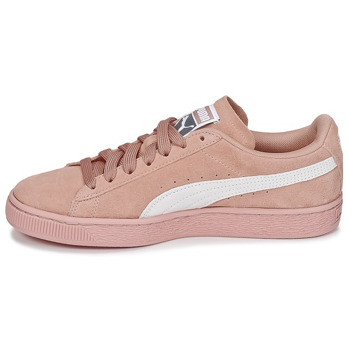 Puma SUEDE CLASSIC WS Rose / Blanc