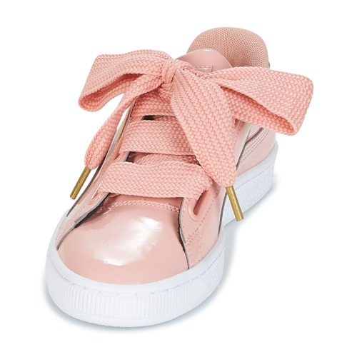 Puma BASKET HEART PATENT WS Rose