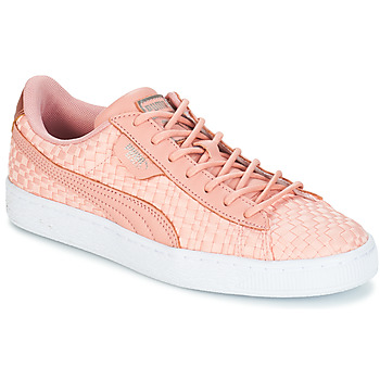 Chaussures Femme Baskets basses Puma BASKET SATIN EP WN'S Rose