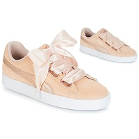 Chaussures Femme Baskets basses Puma SUEDE HEART LUNALUX W'S Rose