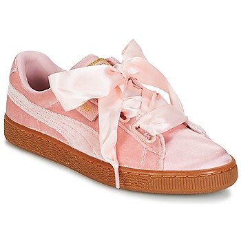 Chaussures Femme Baskets basses Puma BASKET HEART VS W'N Rose