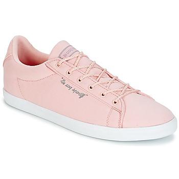 Chaussures Femme Baskets basses Le Coq Sportif AGATE LO CVS/METALLIC Rose