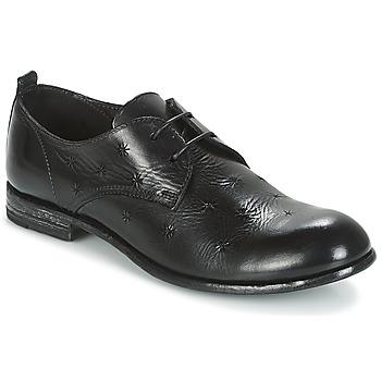 Chaussures Femme Derbies Moma CROSS-NERO Noir