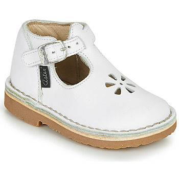 Chaussures Fille Ballerines / babies Aster BIMBO Blanc