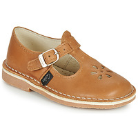 Chaussures Fille Ballerines / babies Aster DINGO Camel