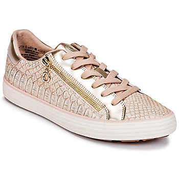 Chaussures Femme Baskets basses S.Oliver BOOMBO Rose / Gold