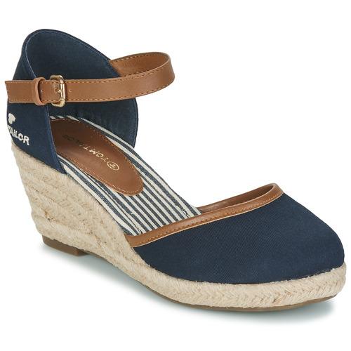 Chaussures Femme Sandales et Nu-pieds Tom Tailor ESKIM Marine